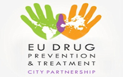 Logo: International Alliance od Cities on Drugas